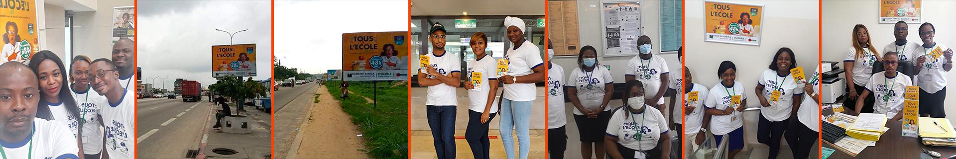 Campagne de Communication Tous à l'École en Côte d'Ivoire (19-08-2020)
