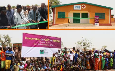 Amélioration de l'infrastructure sanitaire au Burkina Faso avec la Fondation BANK OF AFRICA (02/05/2019)