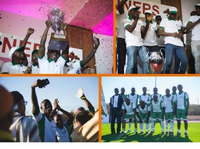 BANK OF AFRICA également 1er au foot ! (19/04/2019)